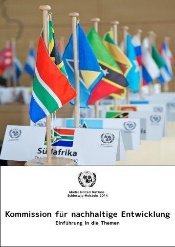 Kommission für nachhaltige Entwicklung - Deutsche Model United ...