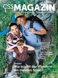 CSS Magazin 02/2013 - CSS Versicherung
