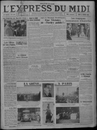 15 février 1934 - Presse régionale