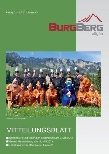 MitteilungsblAtt - Burgberg