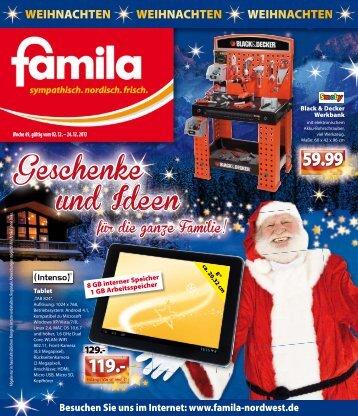 Geschenke und Ideen - Famila