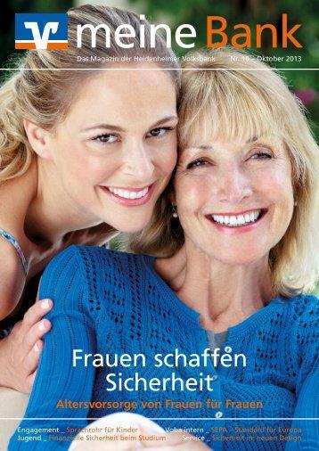 Ausgabe 10 - Oktober 2013 - Heidenheimer Volksbank eG