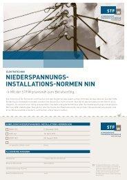 installations-normen nin - Schweizerische Technische Fachschule ...
