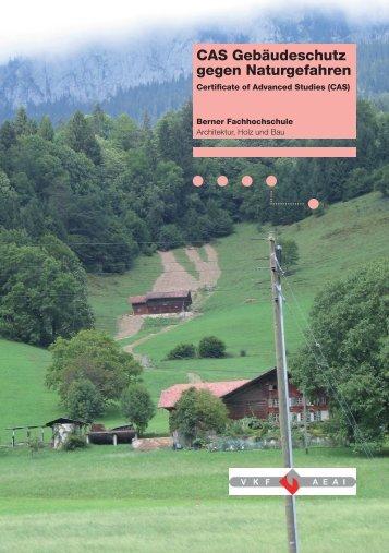 CAS Gebäudeschutz gegen Naturgefahren - Hochschule für ...