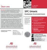 SPC Update - AH Akademie für Fortbildung Heidelberg GmbH