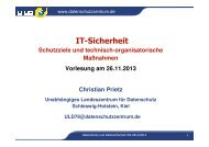 13: IT-Sicherheit, Infromationssicherheitsmanagementsystem (ISMS)