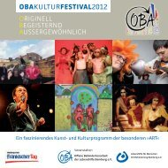 Obakulturfestival2012 - Bezirk Oberfranken
