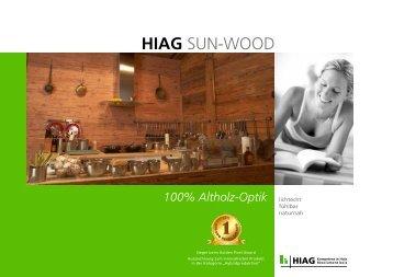 HIAG SUN-WOOD - HIAG Handel AG