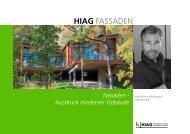 Fassadenfolder - HIAG Handel AG