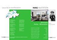 HIAG INVITATION - HIAG Handel AG