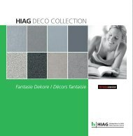 DECO COLLECTION Kronoswiss Fantasie - HIAG Handel AG