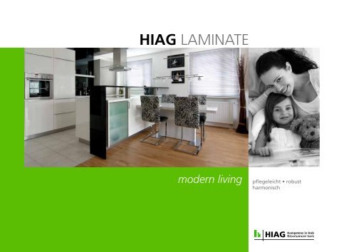 HIAG LAMINATE Folder 2012 - HIAG Handel AG