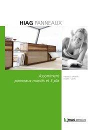 HIAG Panneaux (prospectus) - HIAG Handel AG