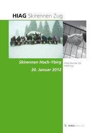 HIAG Skirennen Zug - HIAG Handel AG