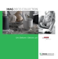 DECO COLLECTION EGGER Uni - HIAG Handel AG