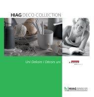 DECO COLLECTION EGGER Uni - HIAG Handel AG