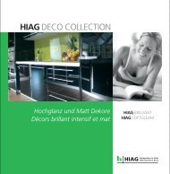 HIAGDECO COLLECTION - HIAG Handel AG