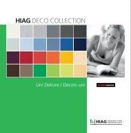 DECO COLLECTION Kronoswiss Uni - HIAG Handel AG