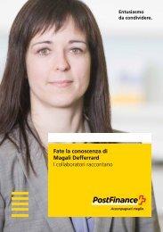 Fate la conoscenza di Magali Defferrard – I collaboratori raccontano