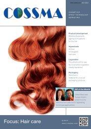 Focus: Hair care - COSSMA