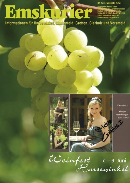 Weinfest - Emskurier Harsewinkel