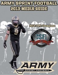 2013 Sprint Football Guide