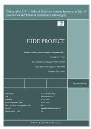 Dr  Schmid's presentation - RISE biometrics and security ethics
