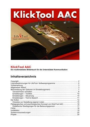 KlickTool AAC Handbuch