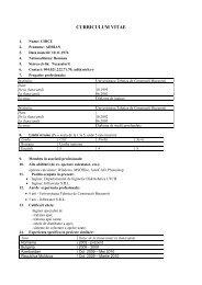 Download CV - Departamentul de Alimentari cu Apa si Canalizare
