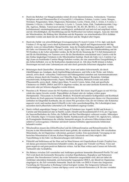 Empfehlungen für HIV-Test-Positive - Ummafrapp