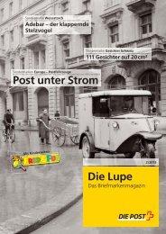 Die Lupe 2/2013 - Die Post