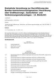 13. BImSchV - Gesetze im Internet