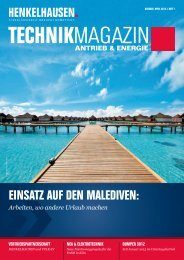 Technikmagazin Ausgabe April 2013 - Henkelhausen