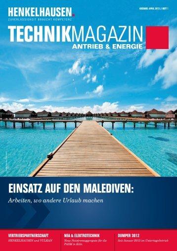 Technikmagazin Ausgabe April 2013 - Henkelhausen