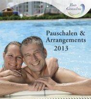 Pauschalen & Arrangements 2013 - Bad Gögging