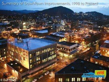 Downtown Accomplishments - City of Bellingham