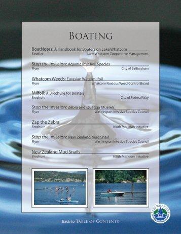 Boating (PDF) - City of Bellingham