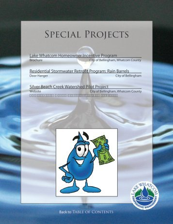 Special Projects (PDF) - City of Bellingham