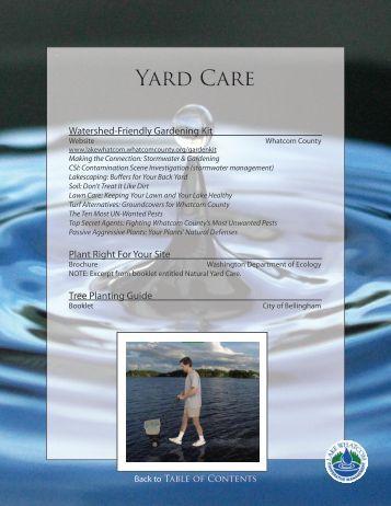 Yard Care - City of Bellingham, WA