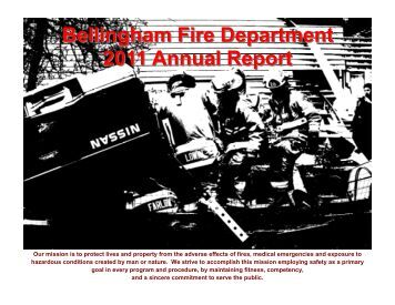 Bellingham Fire Department 2011 Annual Report - City of ...
