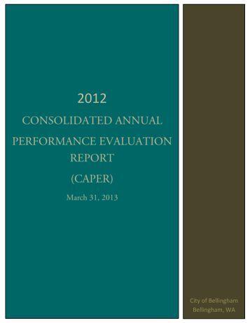 2012 caper - (1075k pdf) - City of Bellingham