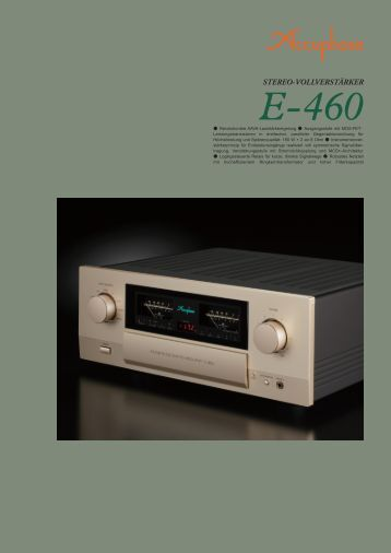 """""""Accuphase DP-410"""" (PDF)"""