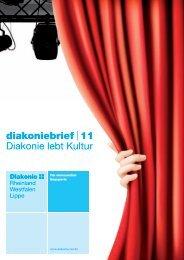 Diakoniebrief 11 - Diakonie Rheinland-Westfalen-Lippe