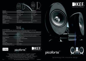 """KEF Picoforte"" (PDF) - HiFi im Hinterhof"