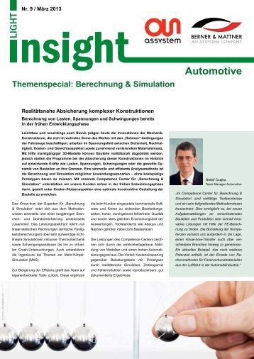 9. Kurznewsletter 'Insight Light Automotive' (pdf ... - Berner & Mattner