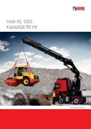 Hiab XS 1055 Kapazität 90 mt - Ulber Fahrzeugtechnik GmbH
