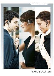 EarSet 1 / EarSet 2 / EarSet 3i - Bang & Olufsen, HiFi-Mathys AG ...