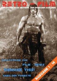 Retro-Film Magazin Ausgabe 1/2014