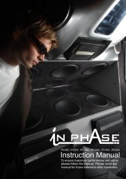 IPX series Amplifiers - InPhase Audio