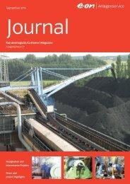 Kunden Journal Nr. 21 (PDF, 4.7 MB) - E.ON AG